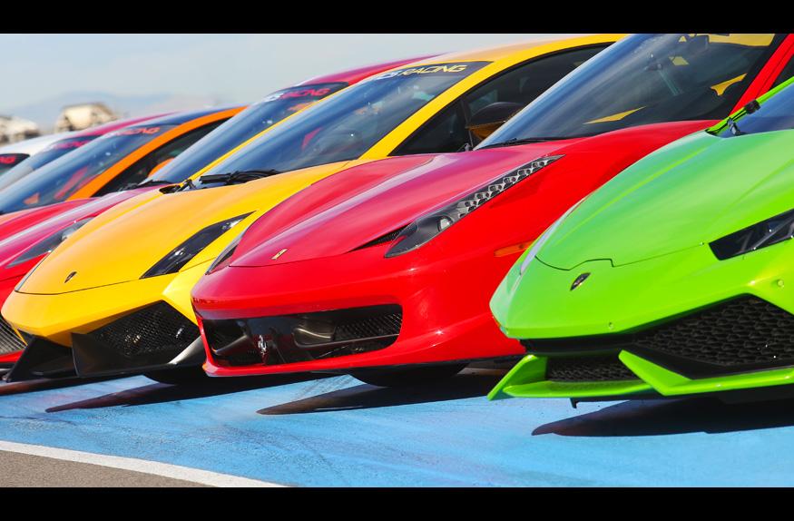 Lamborghini para passeios