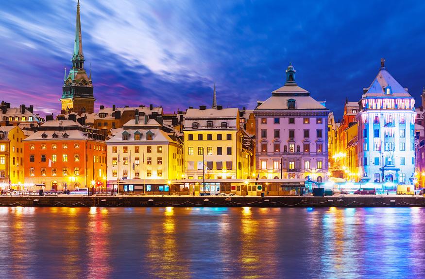 Cidade antiga de Estocolmo