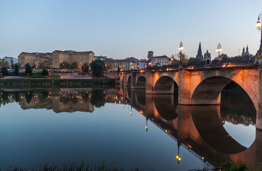 Ponte de Pedra em Logroño, La Rioja