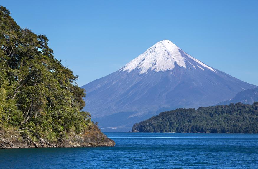 Vulcão Osorno, Região dos Lagos e Vulcões