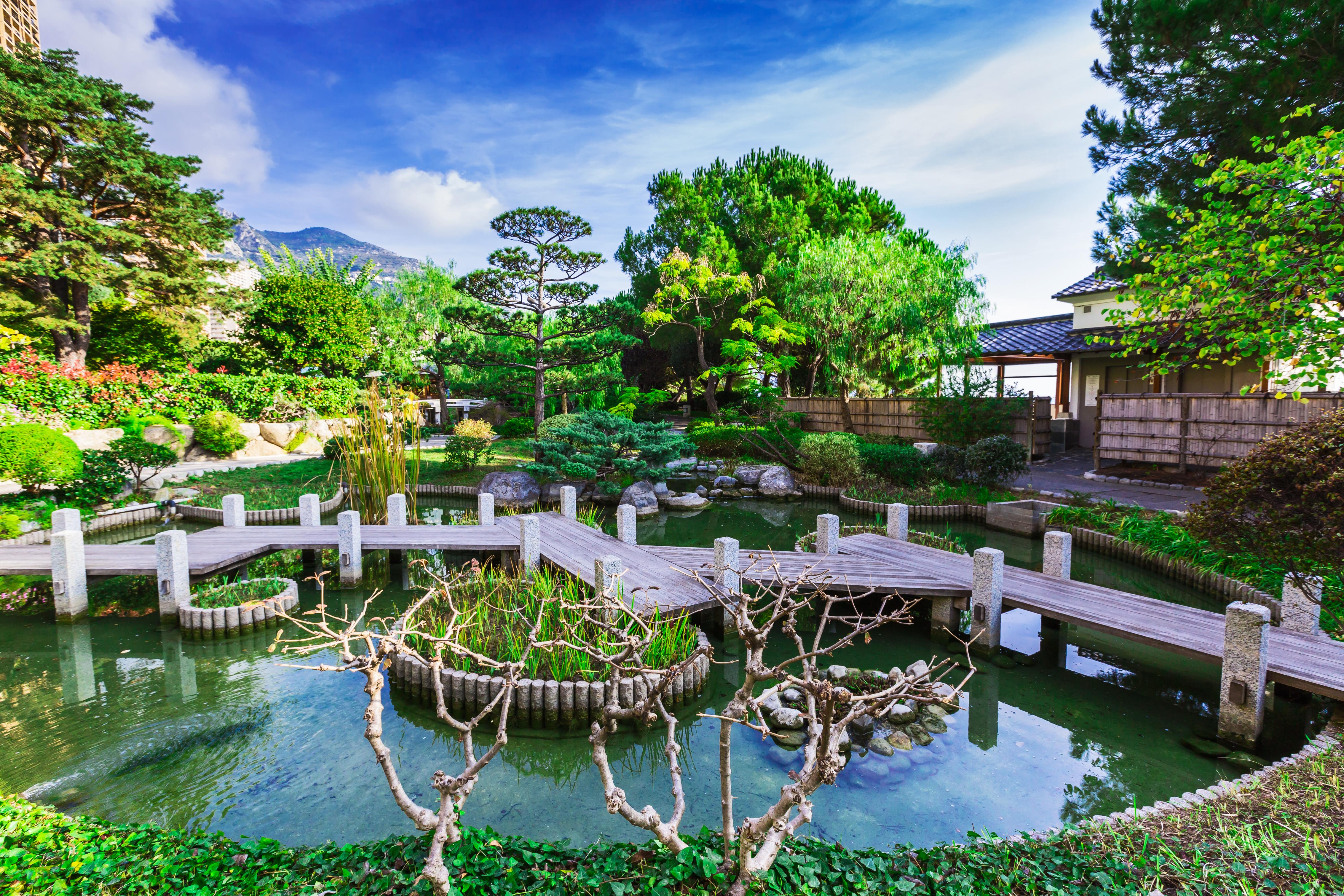 Jardim Japonês, Mônaco