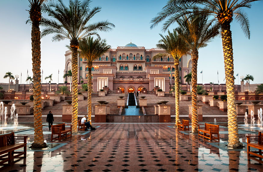 The Emirates Palace Hotel, Abu Dhabi