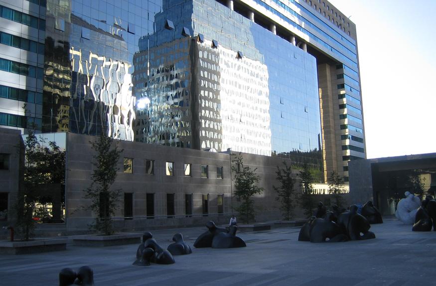 Área central de Santiago
