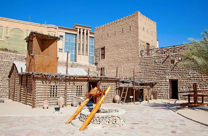 Museu histórico de Abu Dhabi