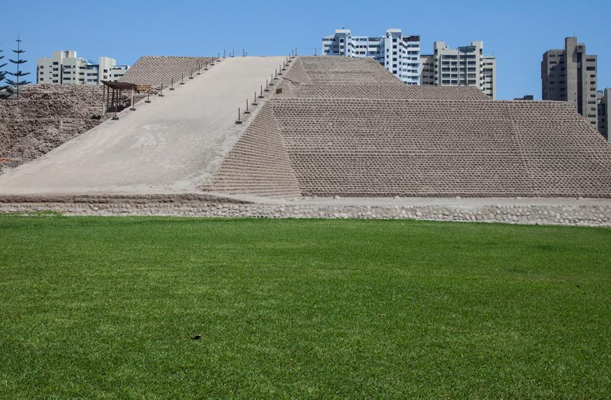 Pirâmide Huaca Huallamarca, Lima
