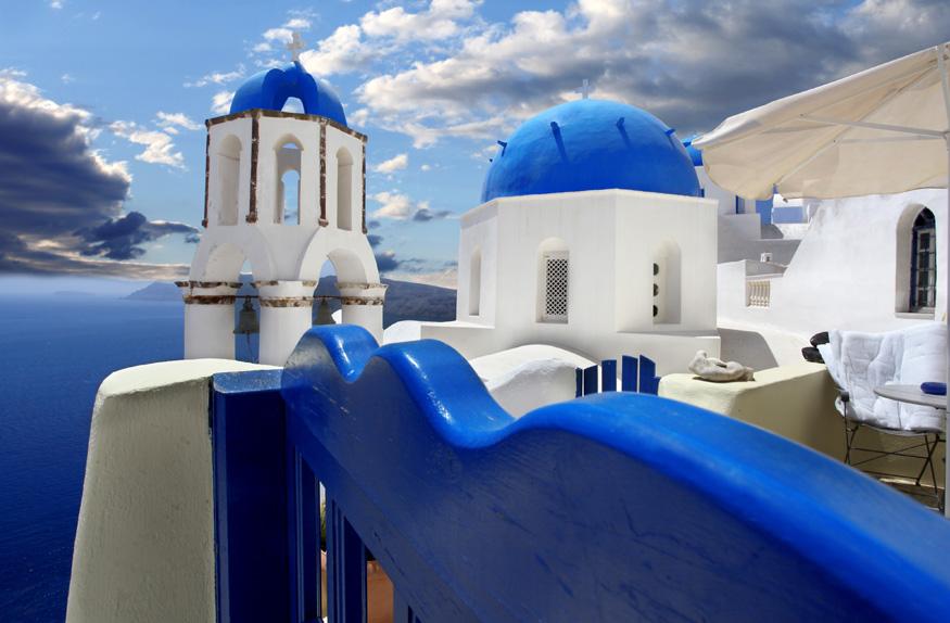 Igrejas de Santorini