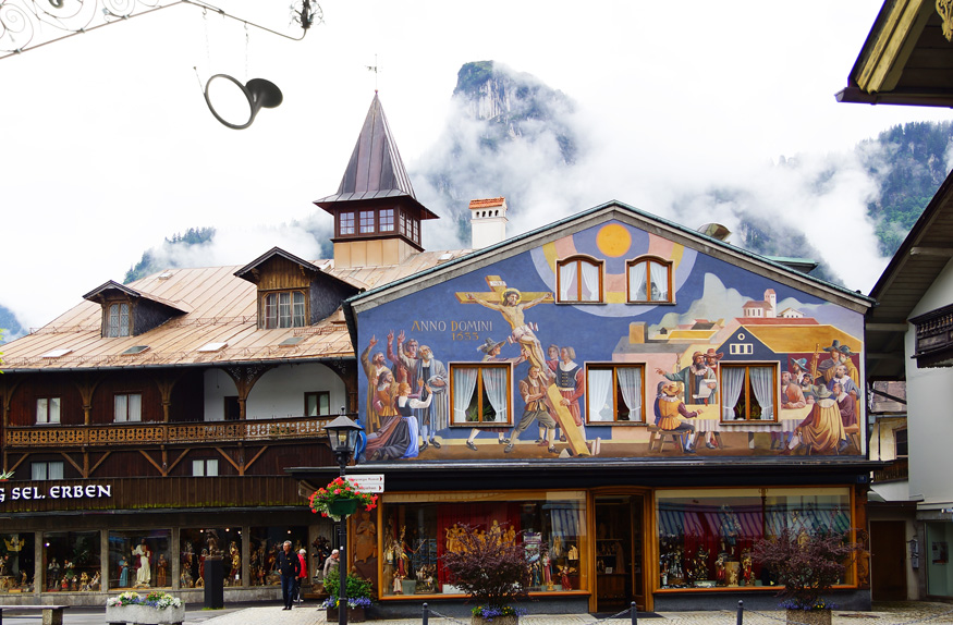 Oberammergau, Munique