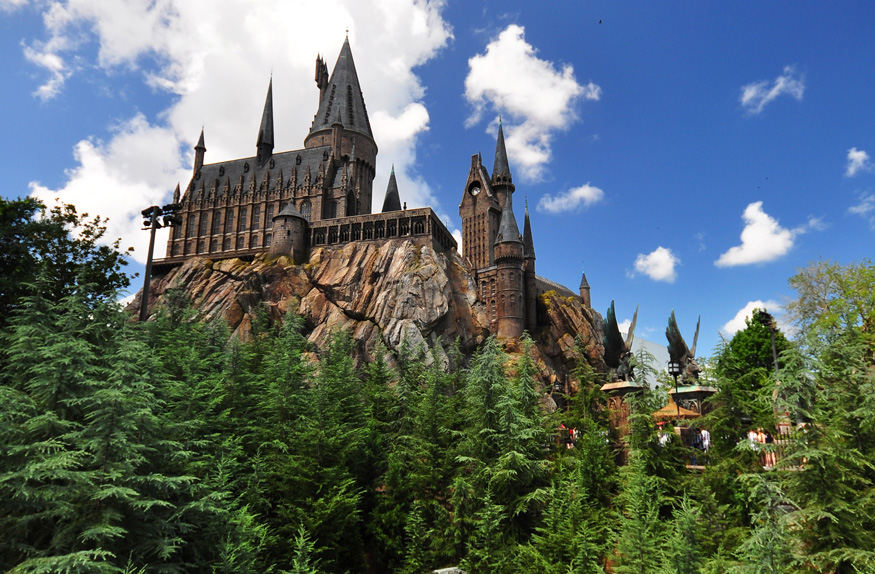 Hogwarts Castle at the Universal Orlando Resort