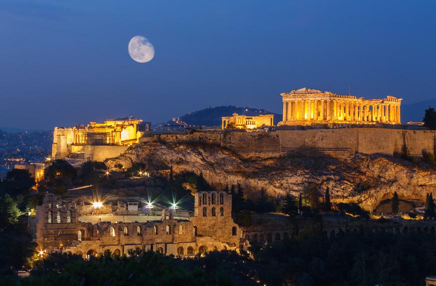 Partenon em Acrópole