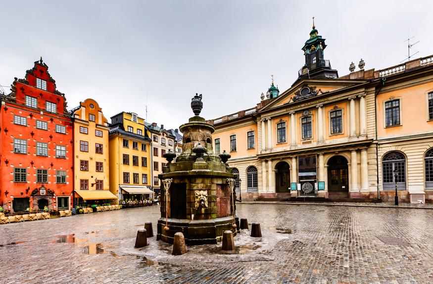 Praça Stortorget, Estocolmo