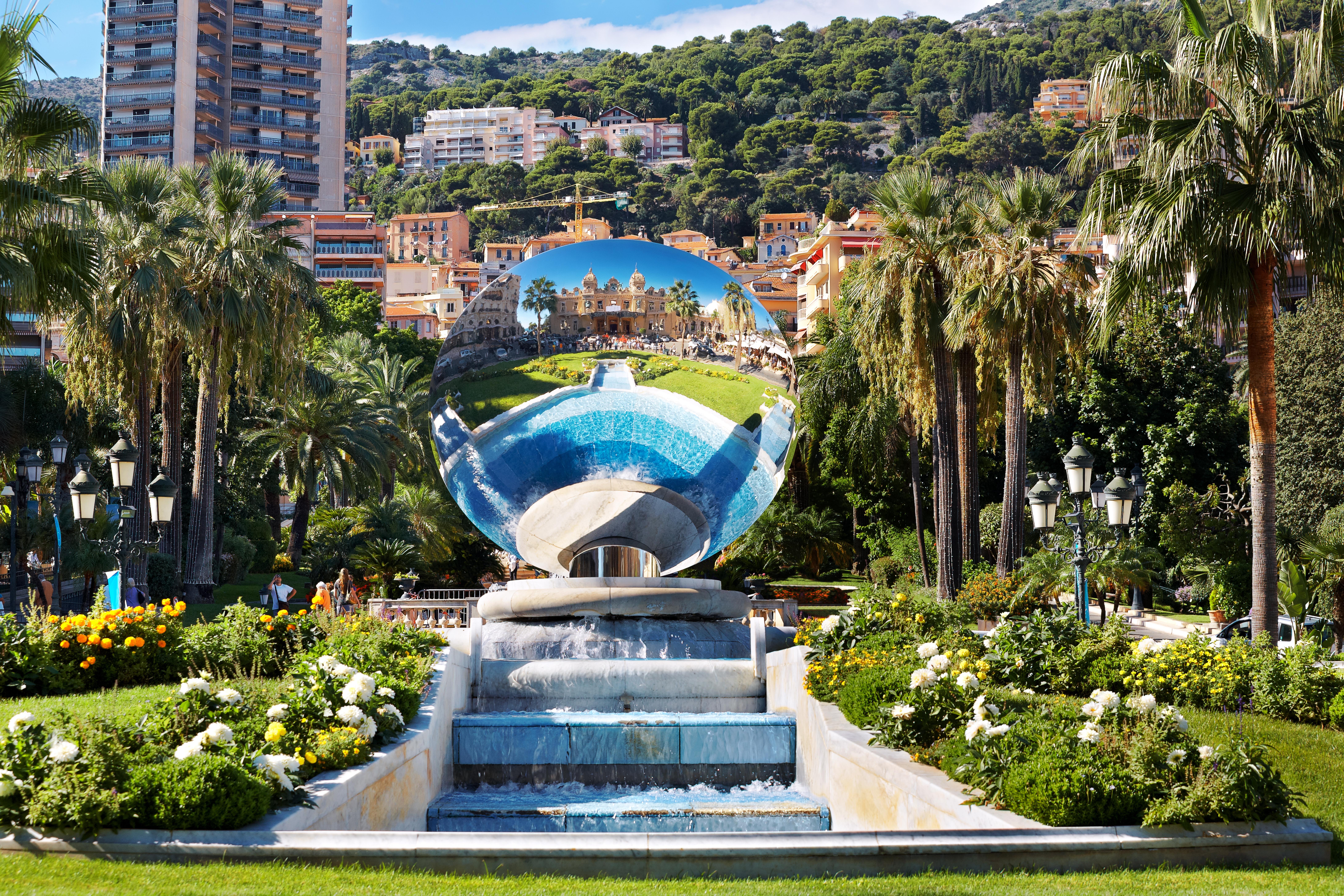 Jardim do Casino de Monte Carlo