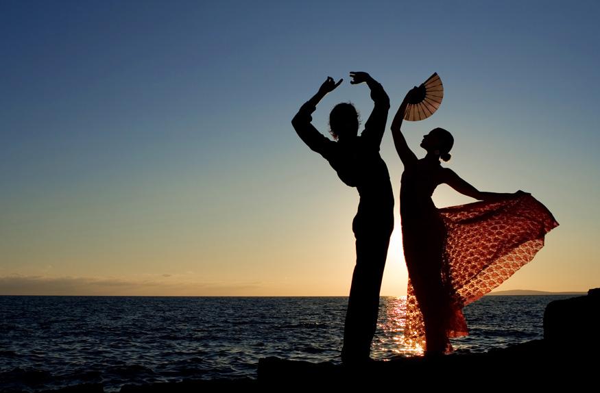 Dançarinos de Flamenco
