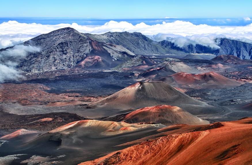 Caldeira do vulcão, Haleakala