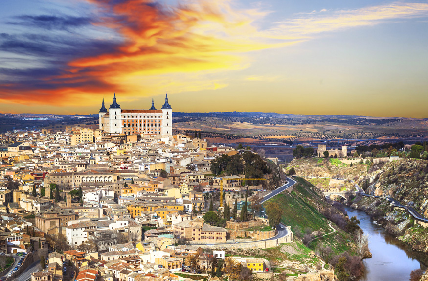 Toledo, Madri