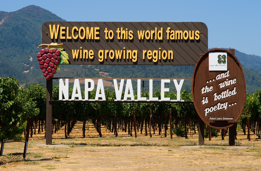Bem-vindo a Napa Valley