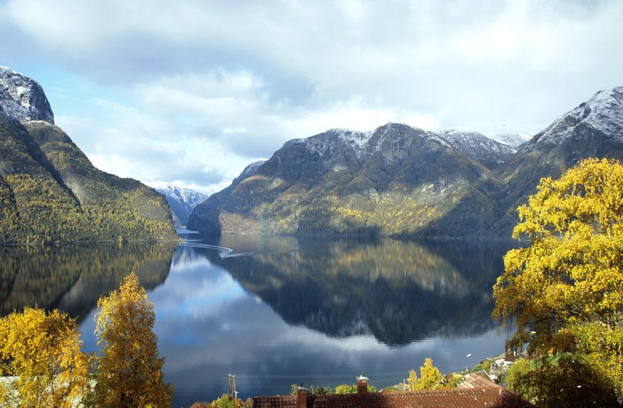 Aurlandsfjord em Flam