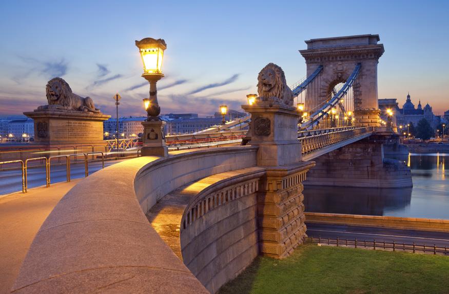 Pontes das correntes, Budapeste