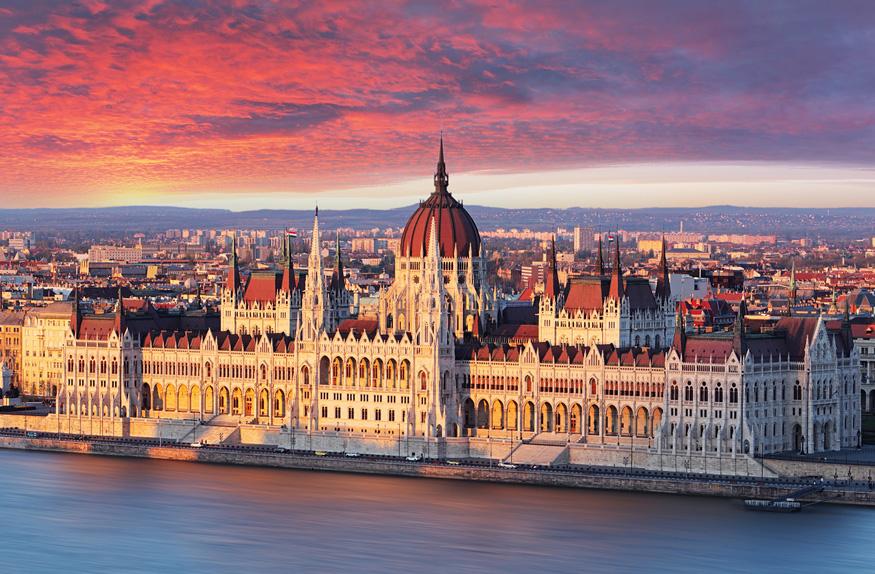 Edifício do parlamento de Budapeste