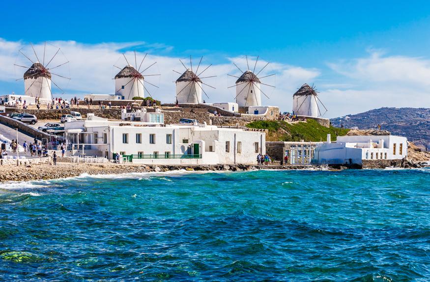 Windmills – Moinhos de Vento de Mykonos