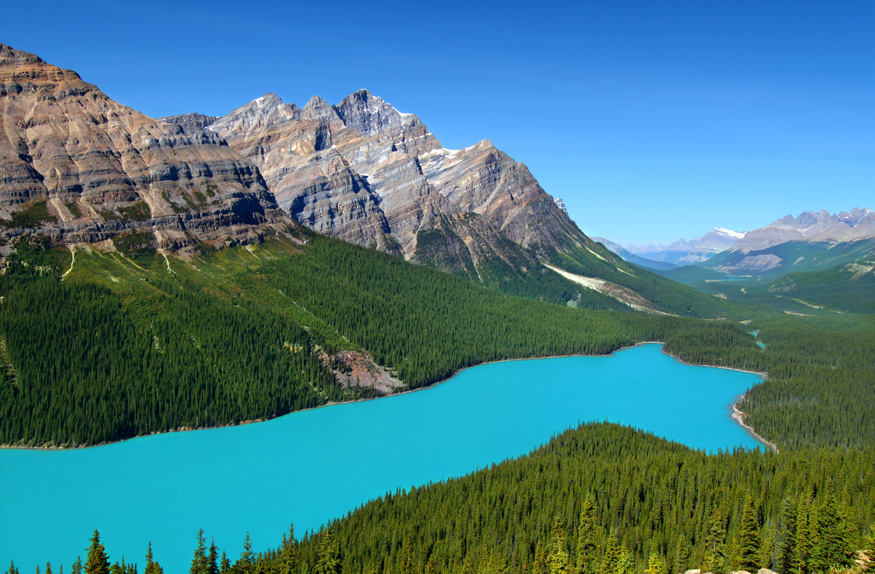 Peyto Lake, Banf National Park