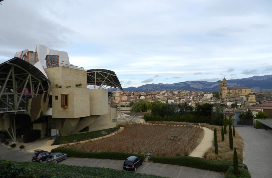 Elciego na região de Rioja