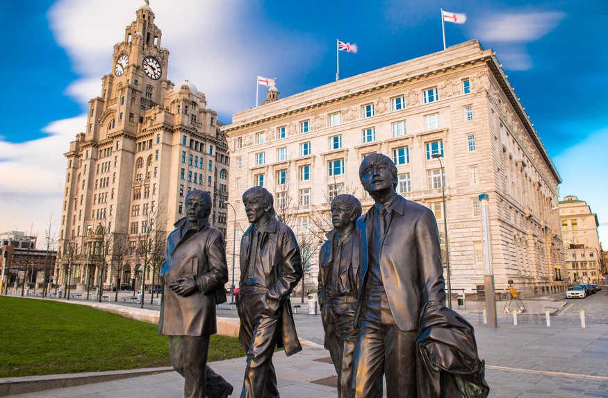 Estátua de bronze dos Beatles, Liverpool