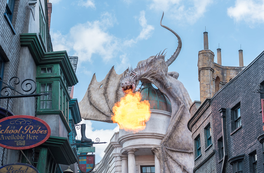 Harry Potter and the Scape from Gringotts