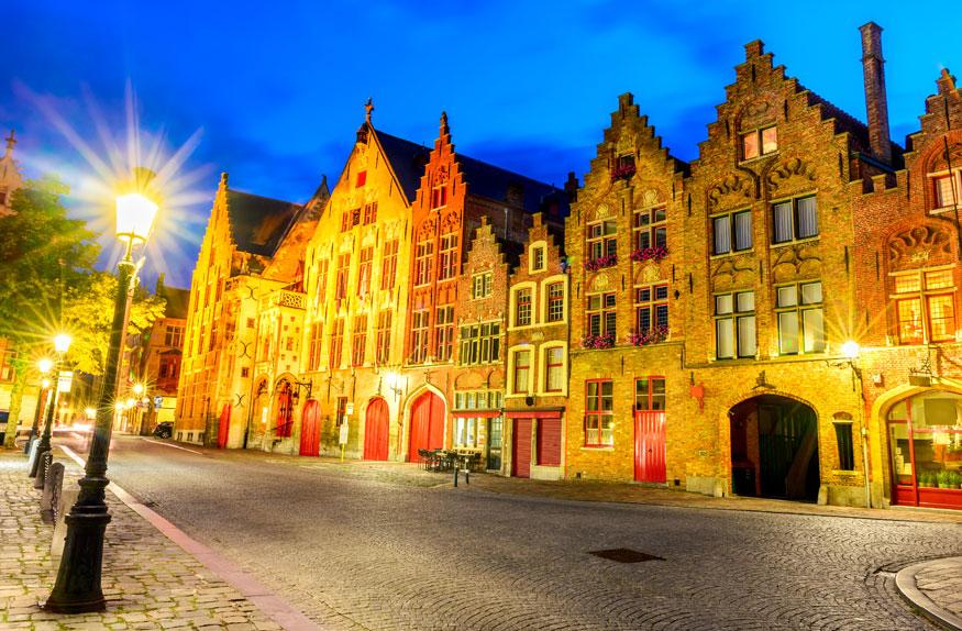 Linda cidade de Bruges