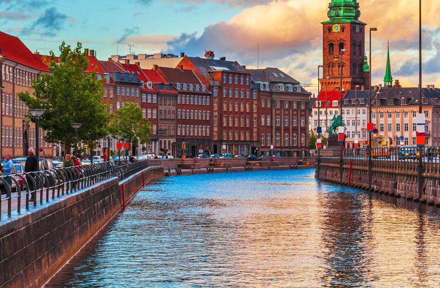 Canal Nyhavn, Copenhagen