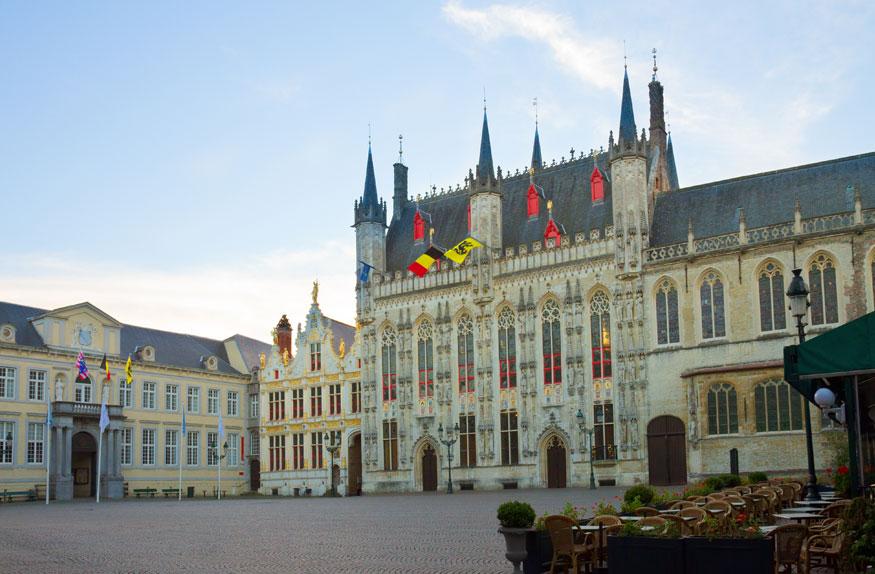 Burg Square na cidade velha